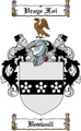 Thumbnail Boswall Family Crest  Boswall Coat of Arms