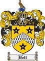 Thumbnail Bott Family Crest Bott Coat of Arms Digital Download
