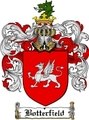 Thumbnail Botterfield Family Crest  Botterfield Coat of Arms