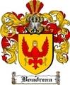 Thumbnail Boudreau Family Crest  Boudreau Coat of Arms