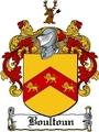 Thumbnail Boultoun Family Crest  Boultoun Coat of Arms