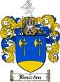 Thumbnail Bourden Family Crest  Bourden Coat of Arms