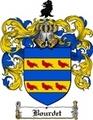 Thumbnail Bourdet Family Crest  Bourdet Coat of Arms