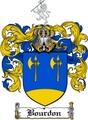 Thumbnail Bourdon Family Crest  Bourdon Coat of Arms