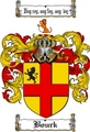 Thumbnail Bourk Family Crest  Bourk Coat of Arms