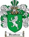 Thumbnail Boustoun Family Crest Boustoun Coat of Arms Digital Download