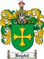 Thumbnail Boydell Family Crest Boydell Coat of Arms Digital Download