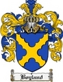 Thumbnail Boyland Family Crest Boyland Coat of Arms Digital Download