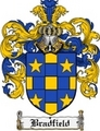 Thumbnail Bradfield Family Crest Bradfield Coat of Arms Digital Download
