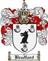 Thumbnail Bradford Family Crest Bradford Coat of Arms Digital Download