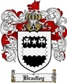 Thumbnail Bradley Family Crest Bradley Coat of Arms Digital Download