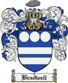 Thumbnail Bradwell Family Crest Bradwell Coat of Arms Digital Download