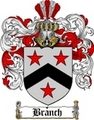 Thumbnail Branch Family Crest  Branch Coat of Arms