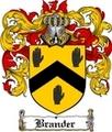 Thumbnail Brander Family Crest  Brander Coat of Arms