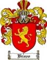 Thumbnail Bravo Family Crest  Bravo Coat of Arms