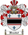 Thumbnail Braxted Family Crest Braxted Coat of Arms Digital Download