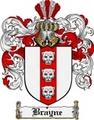 Thumbnail Brayne Family Crest Brayne Coat of Arms Digital Download