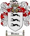 Thumbnail Bresco Family Crest Bresco Coat of Arms Digital Download