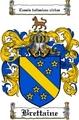 Thumbnail Brettaine Family Crest Brettaine Coat of Arms Digital Download