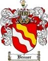 Thumbnail Breuer Family Crest  Breuer Coat of Arms