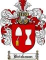 Thumbnail Brickman Family Crest Brickman Coat of Arms Digital Download