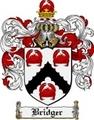 Thumbnail Bridger Family Crest Bridger Coat of Arms Digital Download