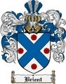 Thumbnail Brient Family Crest  Brient Coat of Arms