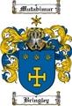 Thumbnail Bringley Family Crest  Bringley Coat of Arms