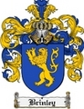 Thumbnail Brinley Family Crest Brinley Coat of Arms Digital Download