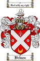 Thumbnail Brison Family Crest  Brison Coat of Arms