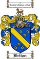 Thumbnail Briton Family Crest  Briton Coat of Arms