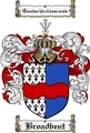 Thumbnail Broadbent Family Crest Broadbent Coat of Arms Digital Download