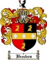 Thumbnail Broders Family Crest  Broders Coat of Arms