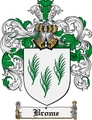 Thumbnail Brome Family Crest Brome Coat of Arms Digital Download