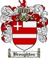 Thumbnail Broughton Family Crest Broughton Coat of Arms Digital Download