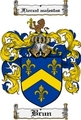 Thumbnail Brun Family Crest  Brun Coat of Arms