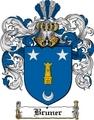 Thumbnail Bruner Family Crest  Bruner Coat of Arms