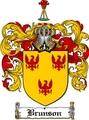 Thumbnail Brunson Family Crest  Brunson Coat of Arms
