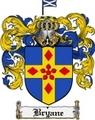 Thumbnail Bryane Family Crest  Bryane Coat of Arms