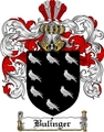 Thumbnail Bulinger Family Crest  Bulinger Coat of Arms
