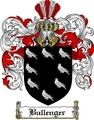 Thumbnail Bullenger Family Crest Bullenger Coat of Arms Digital Download