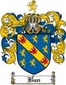 Thumbnail Bun Family Crest  Bun Coat of Arms