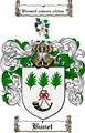 Thumbnail Bunet Family Crest  Bunet Coat of Arms