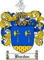 Thumbnail Burdan Family Crest Burdan Coat of Arms Digital Download