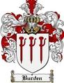 Thumbnail Burden Family Crest Burden Coat of Arms Digital Download