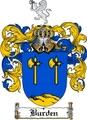 Thumbnail Burden Family Crest  Burden Coat of Arms