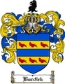Thumbnail Burdick Family Crest  Burdick Coat of Arms