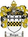 Thumbnail Burges Family Crest Burges Coat of Arms Digital Download