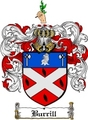 Thumbnail Burrill Family Crest  Burrill Coat of Arms