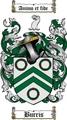 Thumbnail Burris Family Crest  Burris Coat of Arms